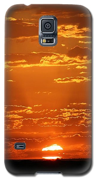 Galaxy S5 Case featuring the photograph Sunset Clouds by Henry Kowalski