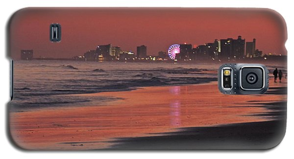 Galaxy S5 Case featuring the photograph Sunset Contrast by Eve Spring
