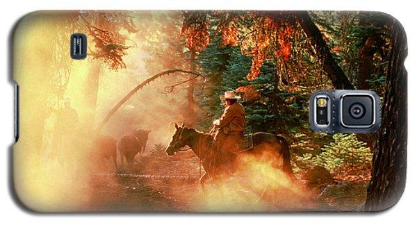 Sunset Cowboy Galaxy S5 Case