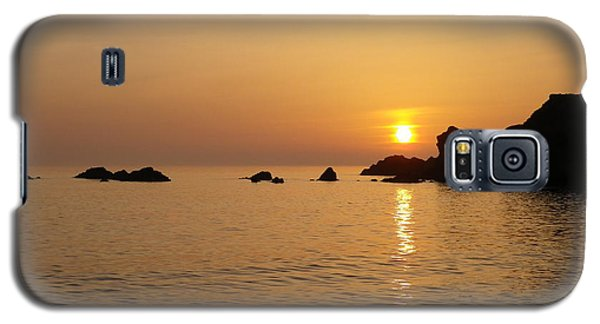 Sunset Crooklets Beach Bude Cornwall Galaxy S5 Case