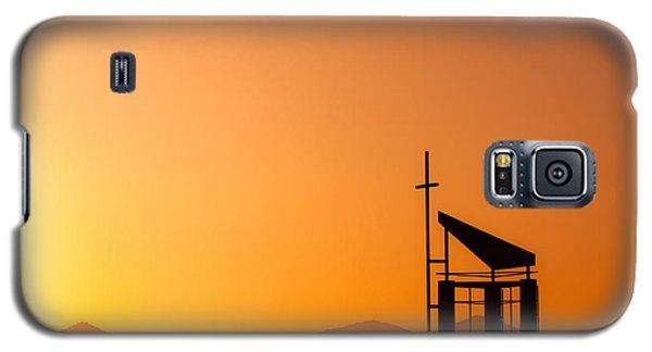 Sunset Cross Galaxy S5 Case