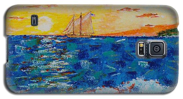 Sunset Cruise  Galaxy S5 Case