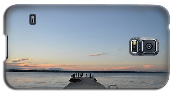 Galaxy S5 Case featuring the photograph Sunset Dock 2  by Lyle Crump