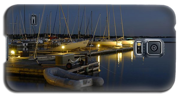 Sunset Dock Galaxy S5 Case by Charles Beeler