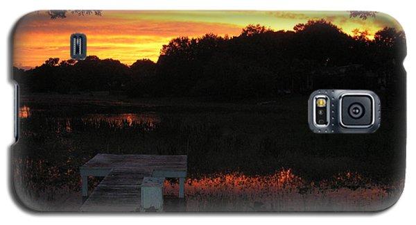 Sunset Dock Galaxy S5 Case