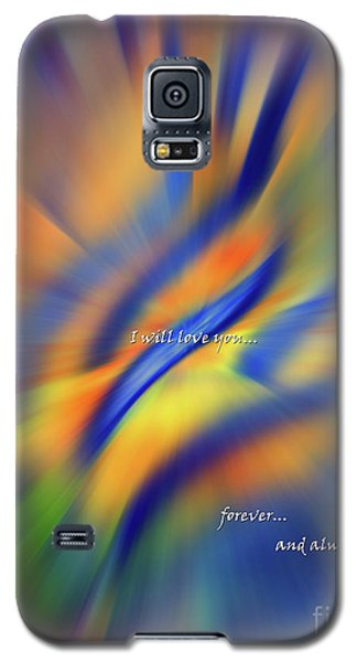 Sunset Dreams I Will Love You Forever  Galaxy S5 Case