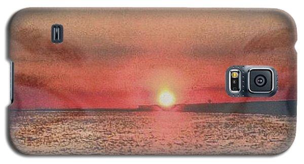 Sunset Eyes Inspirational Art By Saribelle Rodriguez Galaxy S5 Case by Saribelle Rodriguez