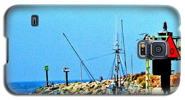 Sunset Fishing Galaxy S5 Case
