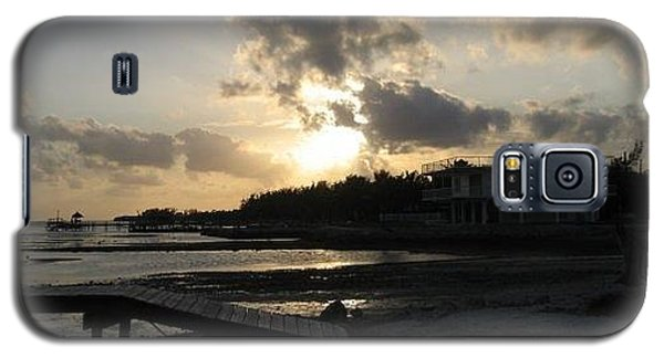 Galaxy S5 Case featuring the photograph Sunset  - Florida Keys by Jean Marie Maggi