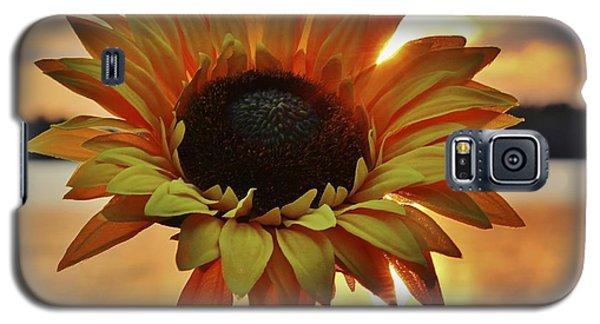 Sunset Flower Galaxy S5 Case