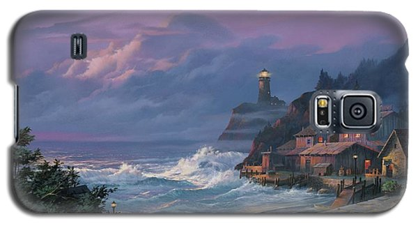 Sunset Fog Galaxy S5 Case by Michael Humphries