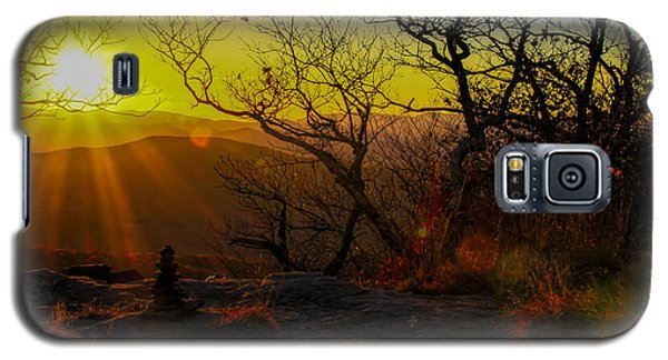 Sunset From Blood Mountain Galaxy S5 Case