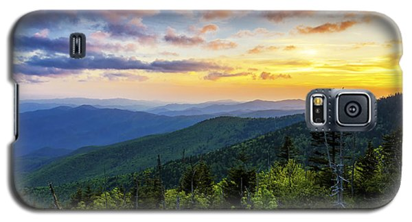 Sunset From Clingmans Dome Galaxy S5 Case