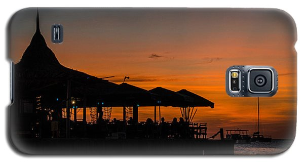 Sunset From Pelican Pier Galaxy S5 Case by Judy Wolinsky