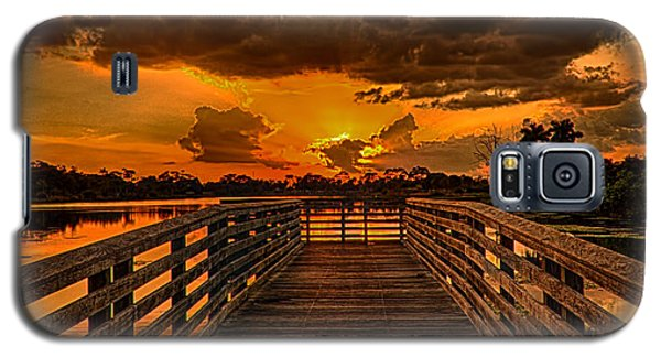 Sunset From The Dock Galaxy S5 Case