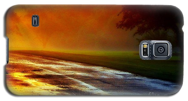 Sunset Glint In The Mist Galaxy S5 Case