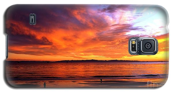 Galaxy S5 Case featuring the photograph Sunset Glow by Sue Halstenberg