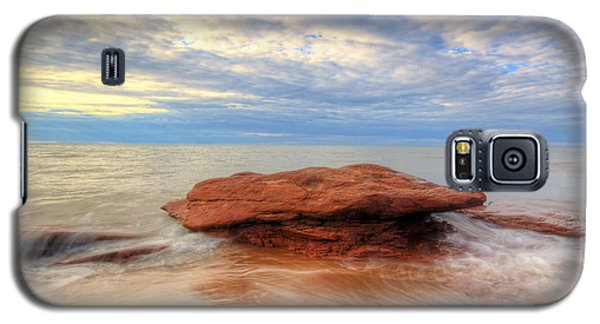 sunset hour at PEI National Park. Galaxy S5 Case