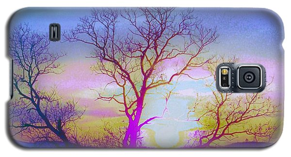 Galaxy S5 Case featuring the photograph sunset I by Shirley Moravec