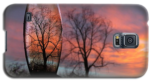 Sunset In A Bottle Galaxy S5 Case