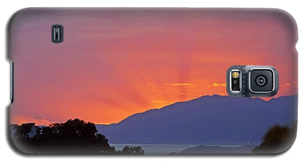 Sunset In Andalucia Galaxy S5 Case