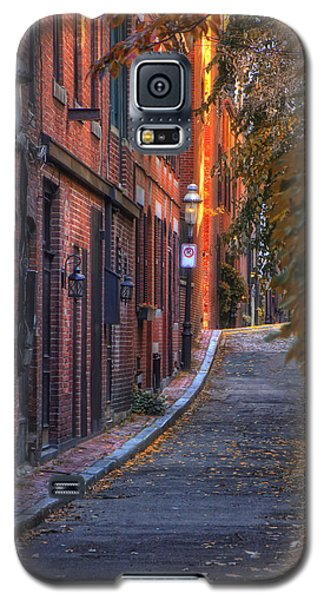 Sunset In Beacon Hill Galaxy S5 Case by Joann Vitali