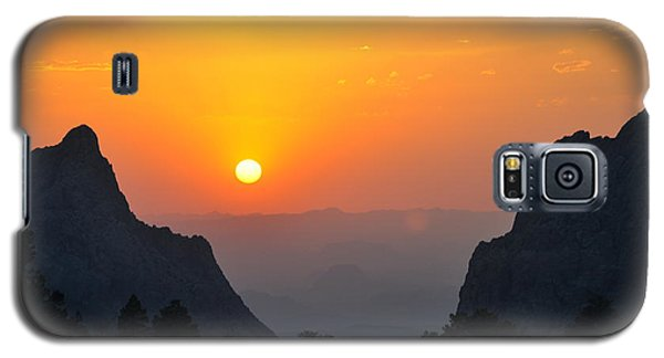 Sunset In Big Bend National Park Galaxy S5 Case