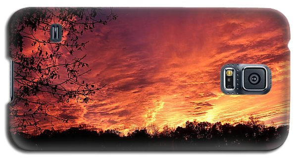 Sunset In Blue Ridge Foothills Galaxy S5 Case