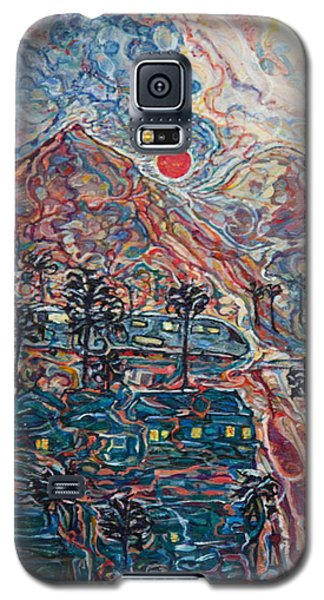 Sunset In California Galaxy S5 Case