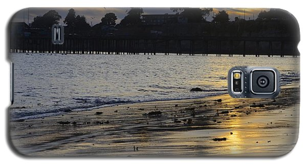 Galaxy S5 Case featuring the photograph Sunset In Capitola by Alex King