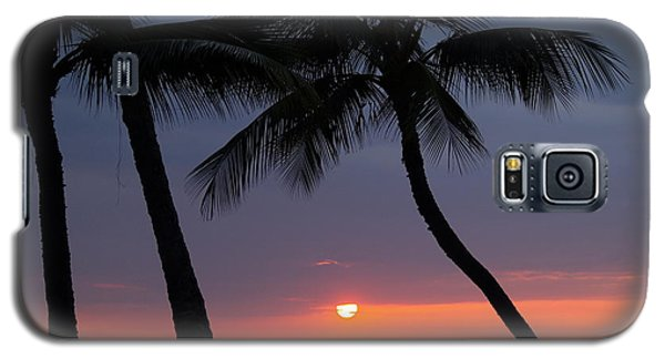 Sunset In Hawaii Galaxy S5 Case by Athala Carole Bruckner