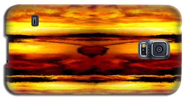 Sunset In Heaven Galaxy S5 Case by Bruce Nutting