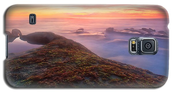 Sunset In La Jolla Galaxy S5 Case