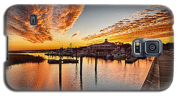 Sunset In Murells Inlet Galaxy S5 Case