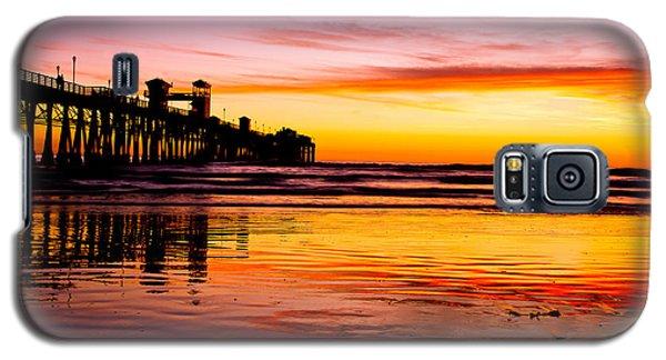 Sunset In Oceanside Galaxy S5 Case