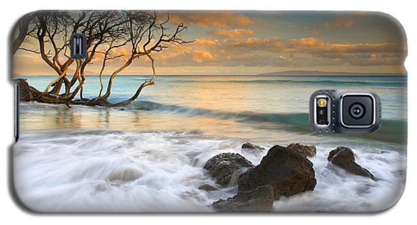 Sunset Galaxy S5 Case - Sunset In Paradise by Mike  Dawson