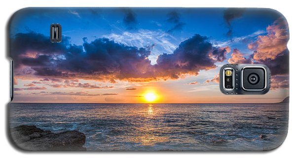 Sunset In Paradise Galaxy S5 Case by Mike Lee