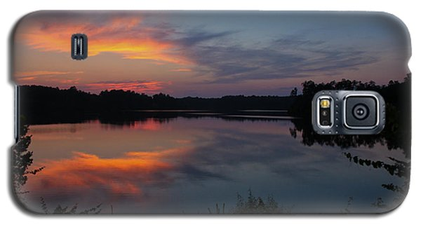Sunset In Pastels Galaxy S5 Case by Geri Glavis
