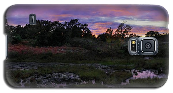 Sunset In Purple Along Highway 7 Galaxy S5 Case