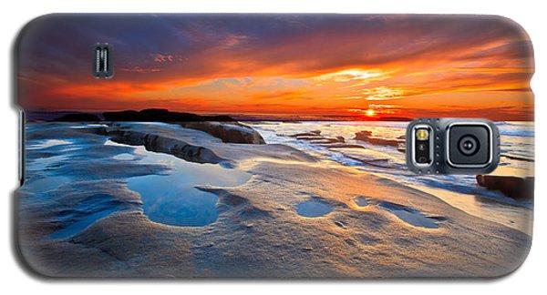Sunset In San Diego Galaxy S5 Case