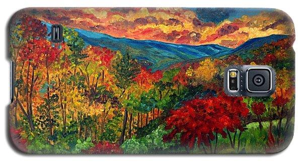 Sunset In Shenandoah Valley Galaxy S5 Case by Julie Brugh Riffey