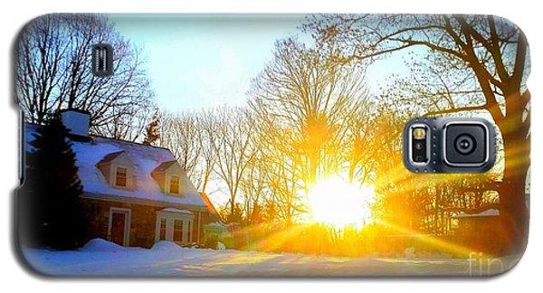 Snowy Sunset 2 Galaxy S5 Case