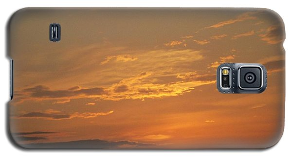 Galaxy S5 Case featuring the photograph Sunset In St. Peters by Kelly Awad