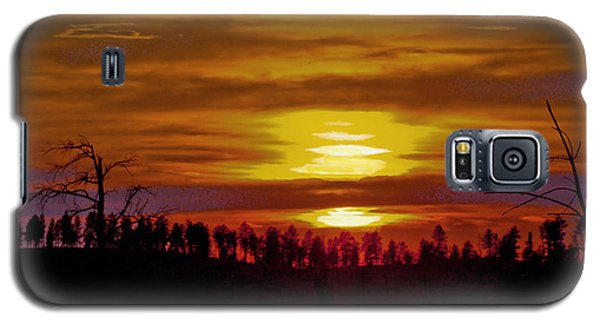 Galaxy S5 Case featuring the photograph Sunset In The Black Hills 2 by Cathy Anderson