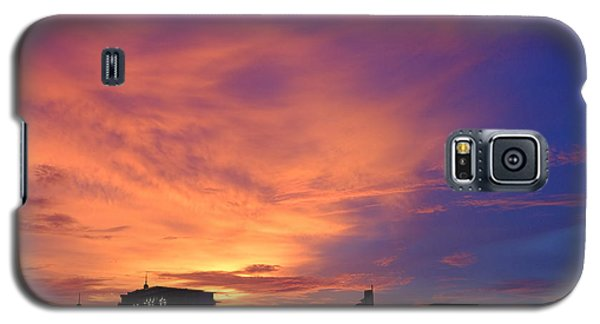 Sunset In The City Galaxy S5 Case