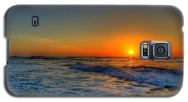 Sunset In The Cove Galaxy S5 Case by Dave Files