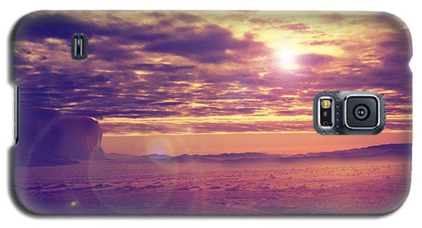 Sunset In The Desert Galaxy S5 Case
