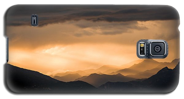 Sunset In The Mountains Galaxy S5 Case