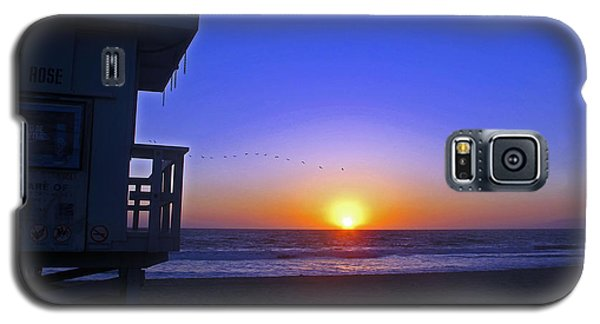 Sunset In Venice Galaxy S5 Case