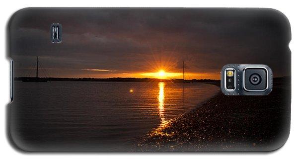 Sunset In West Mersea Galaxy S5 Case